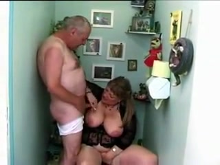 French mom fucked in toilet