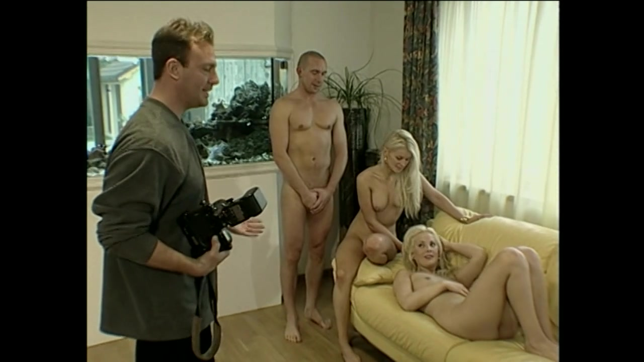 Euro Blondie Bitches Take a prick in the Butt and a nice Facial